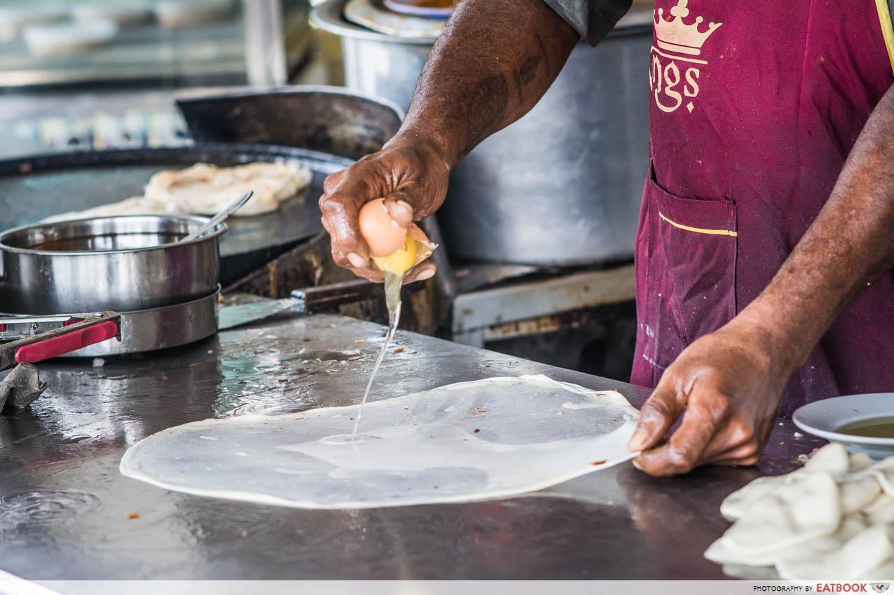 Making Roti Prata