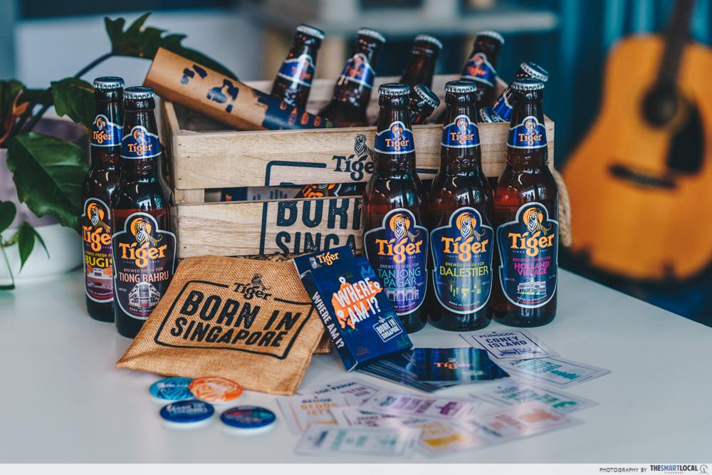 Tiger district bottles