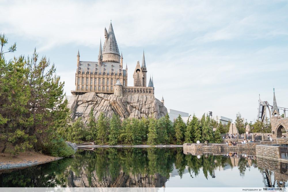 universal studios japan 2019 harry potter hogwarts castle wizarding world