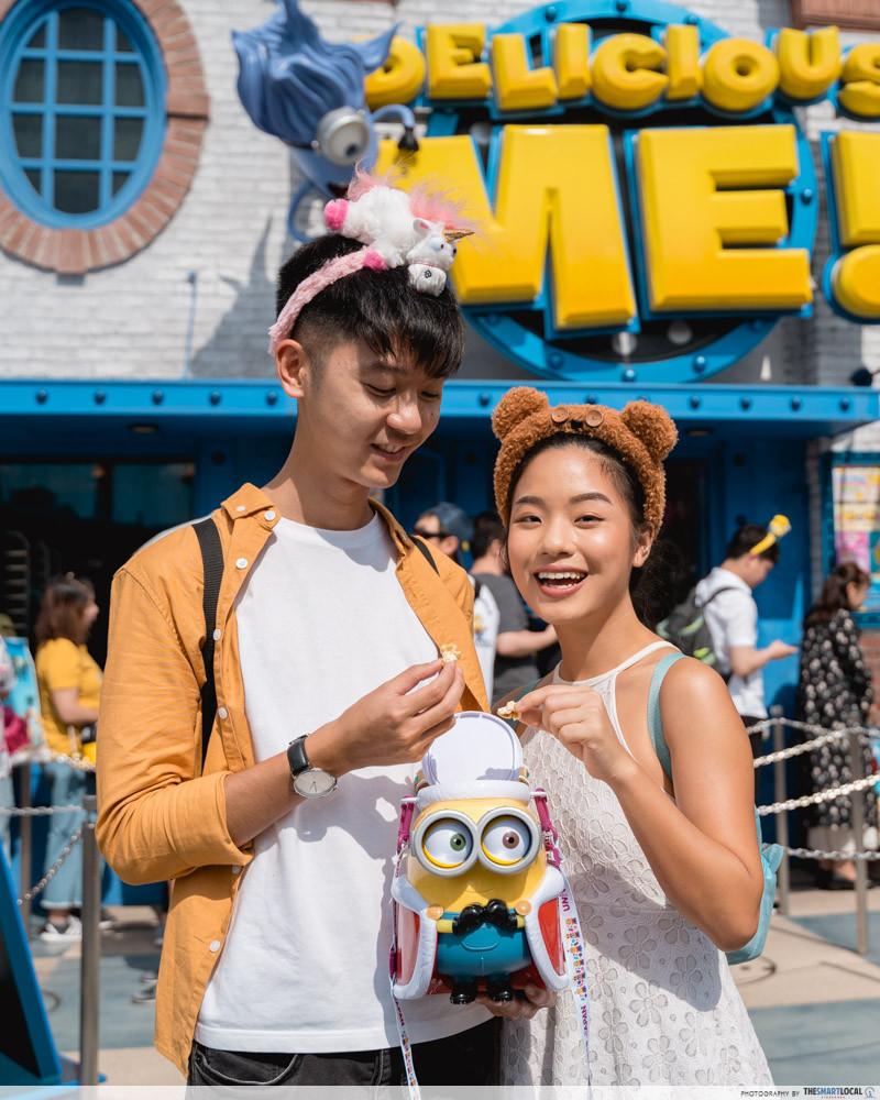 universal studios japan 2019 despicable me popcorn bucket minion merch