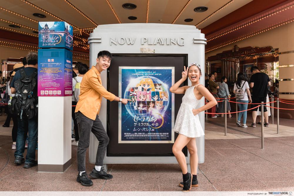 universal studios japan 2019 sailor moon show