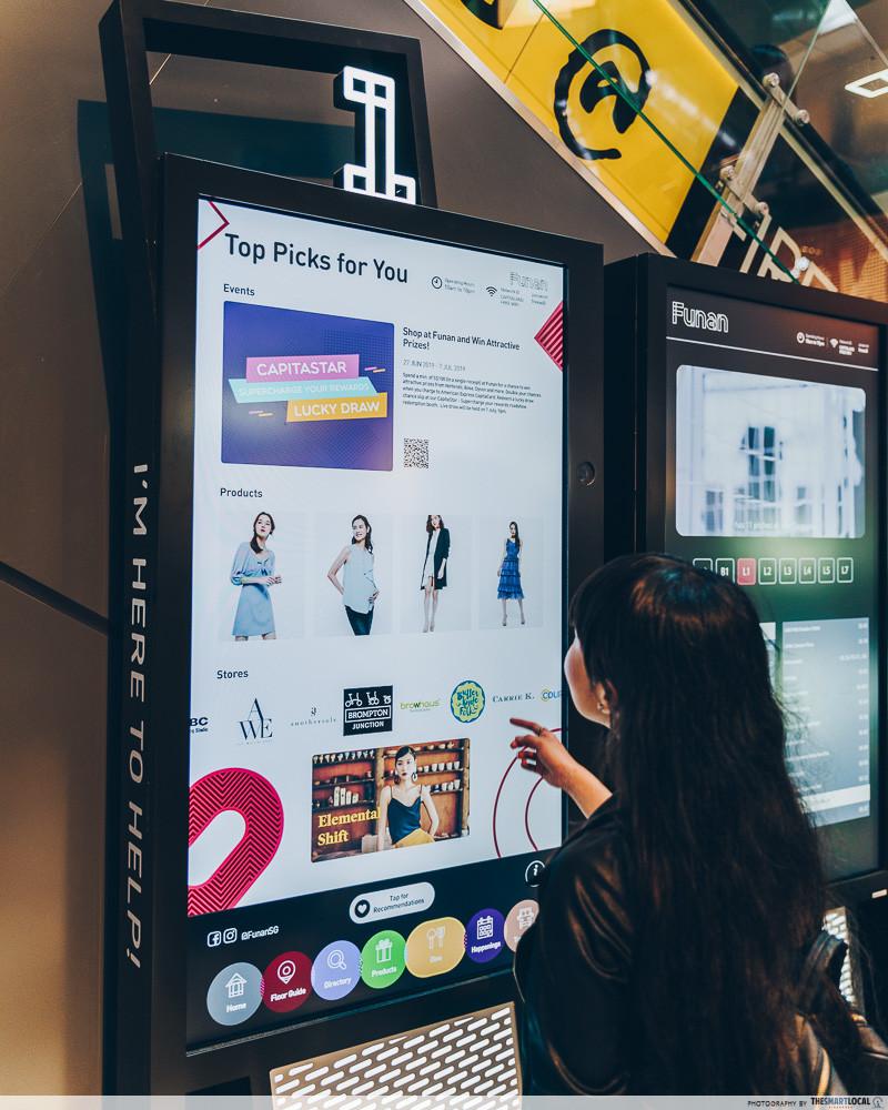 Smart directory facial recognition Funan