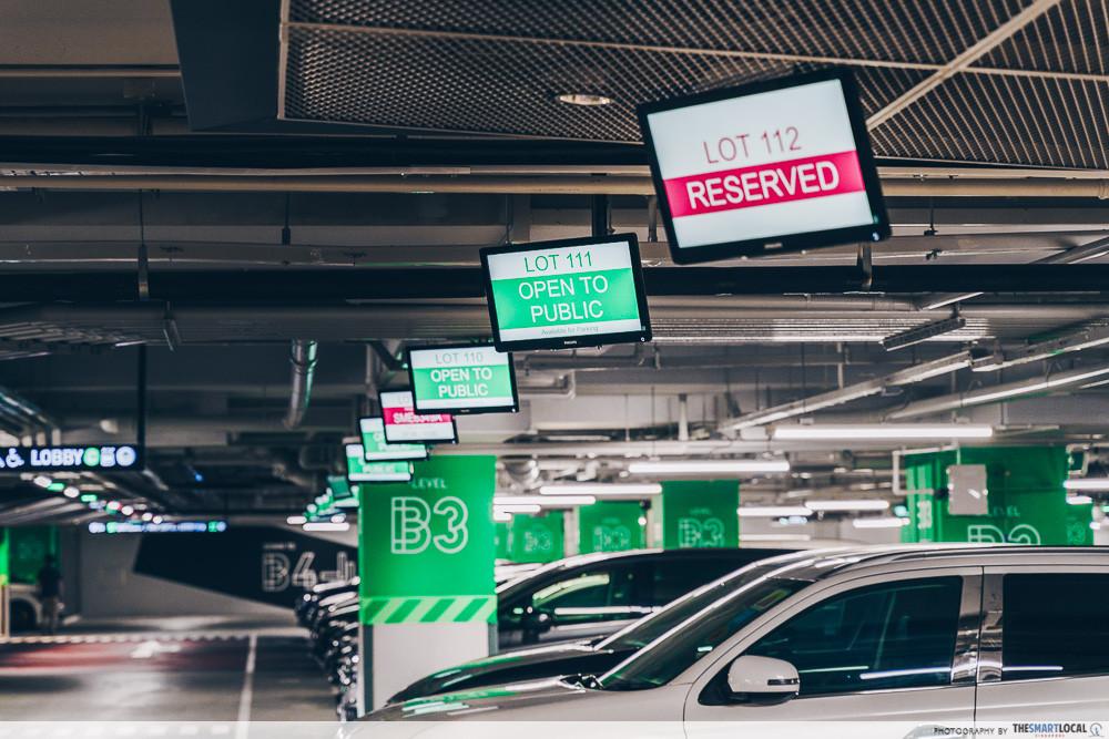 Smart carpark Funan
