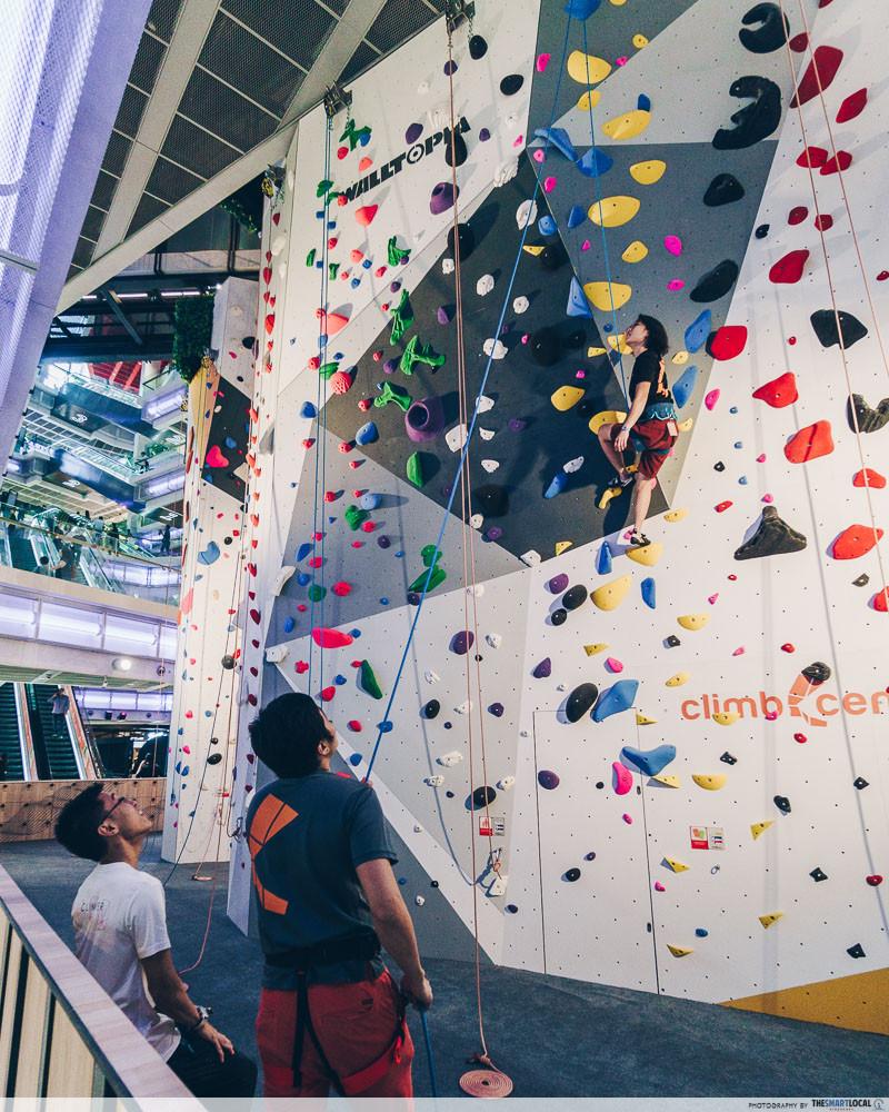 Funan Climb Central rock climbing