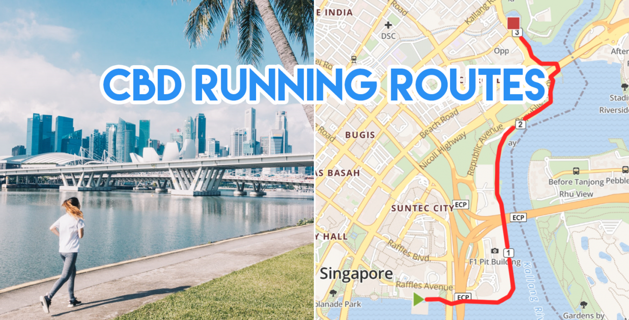 6 Running Routes In The CBD For Office Workers Who Aren\'t ...