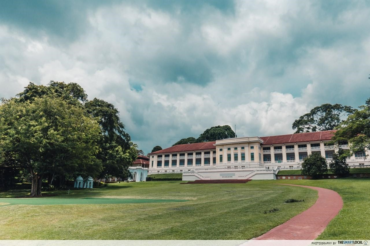 Running routes in the CBD - fort canning centre