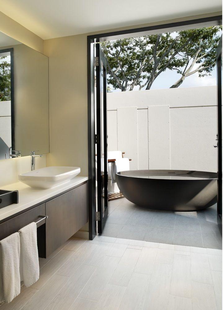 outdoor bathtub private amara sanctuary