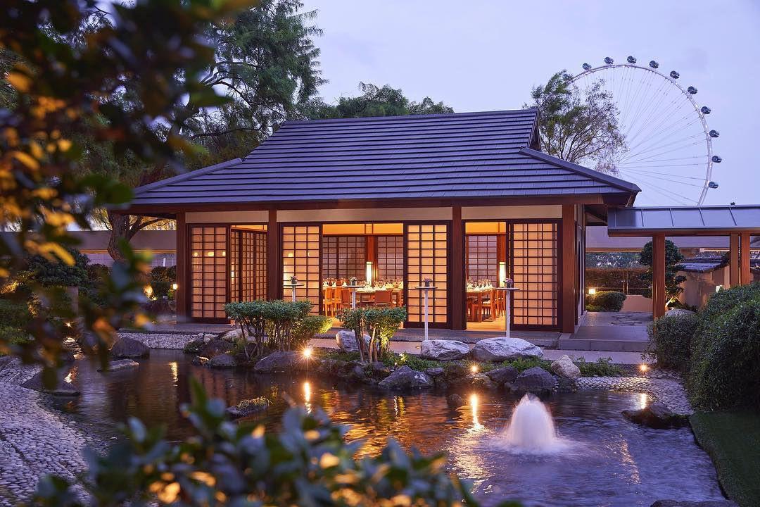 japanese keyaki garden pavilion pan pacific