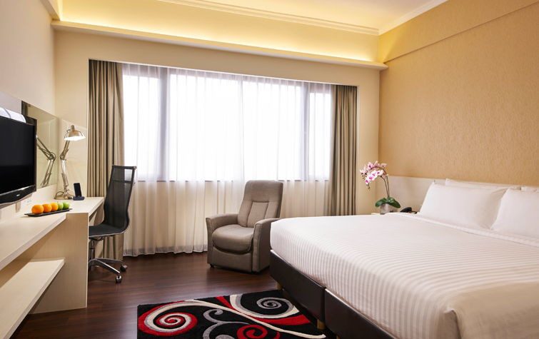 village hotel deluxe room