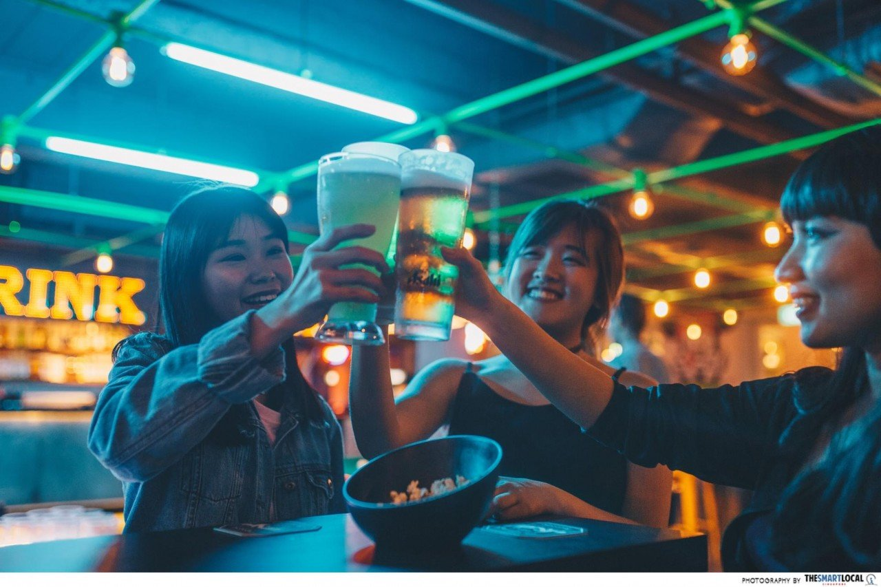 Beer at Level Up