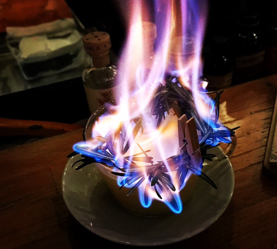 Fire cocktail