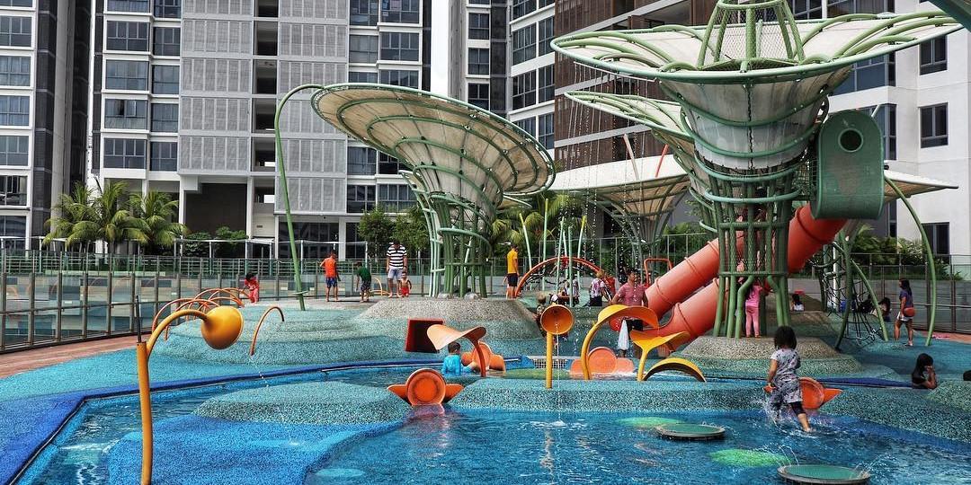 Water playgrounds Singapore