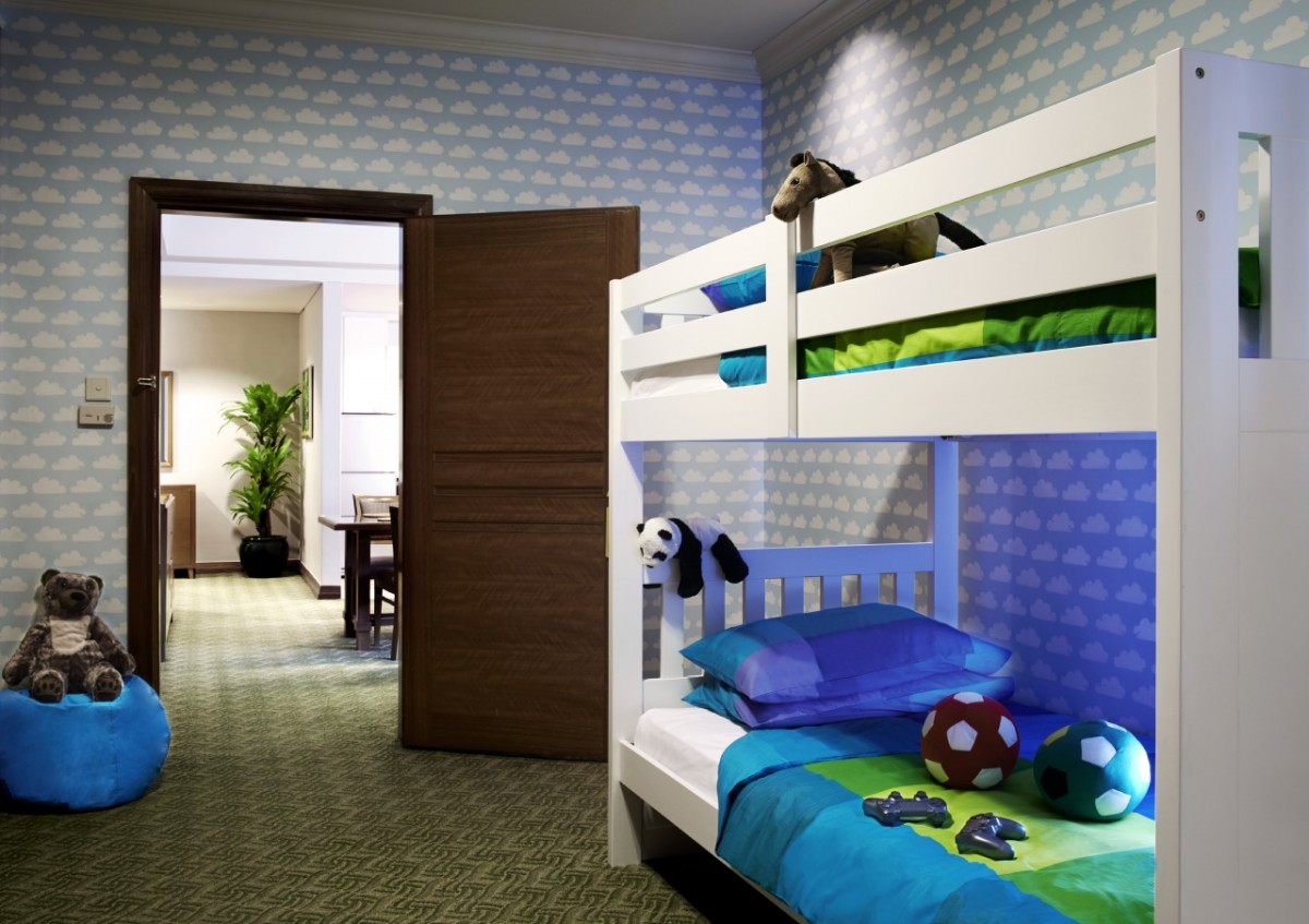 bunk beds with toys at Pullman KL