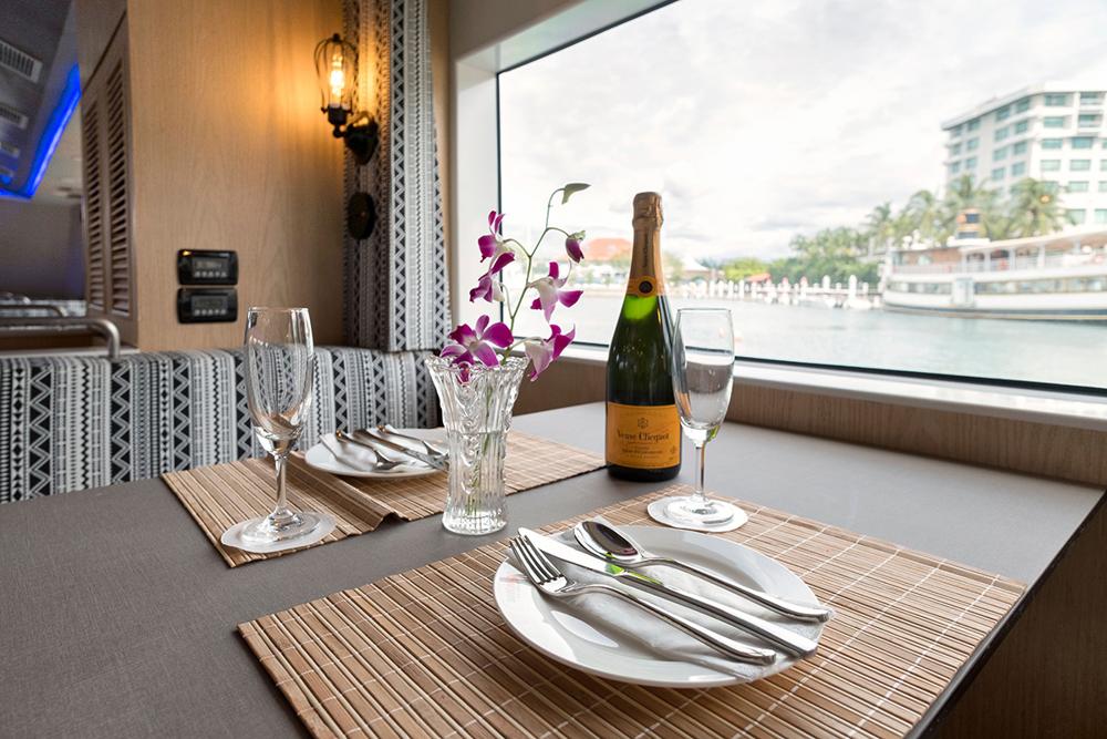 North Borneo Cruises dining