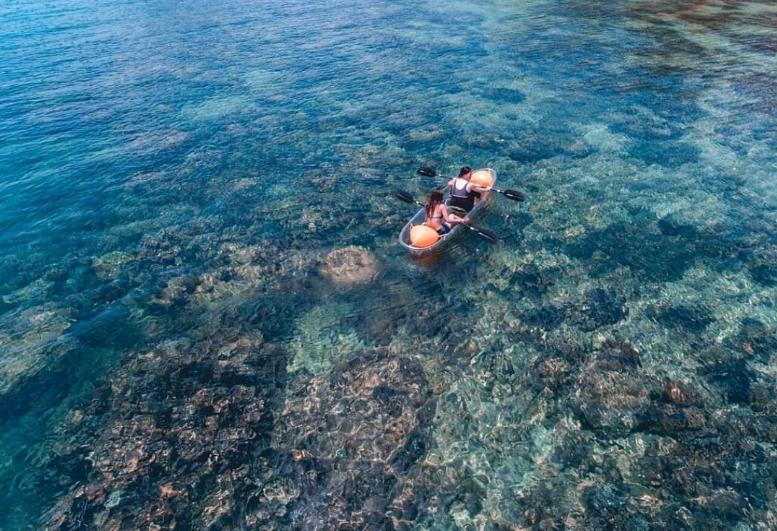 Dinawan Island kayak