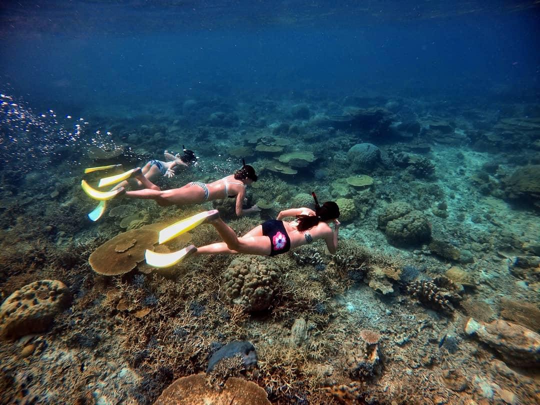Mantanani Island snorkel
