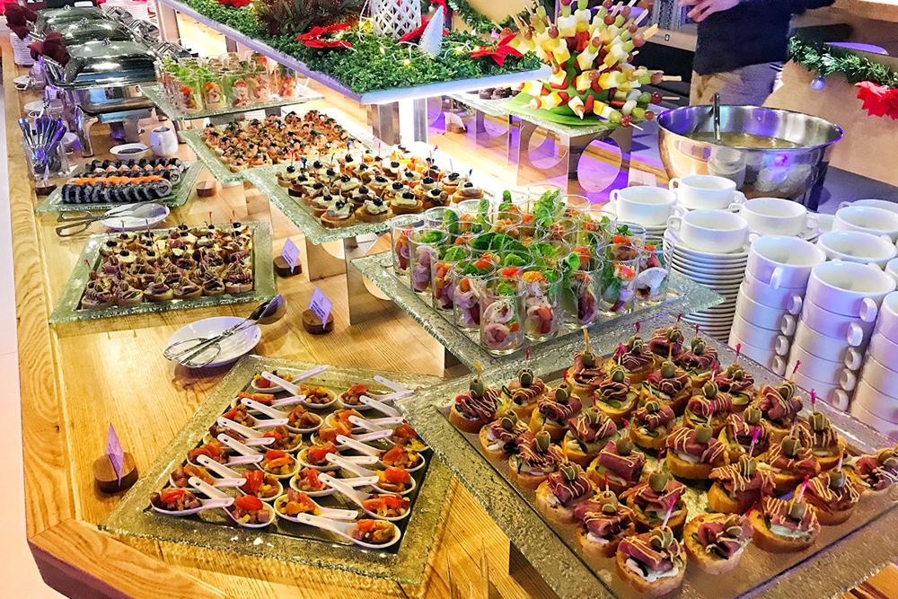 North Borneo Cruises buffet