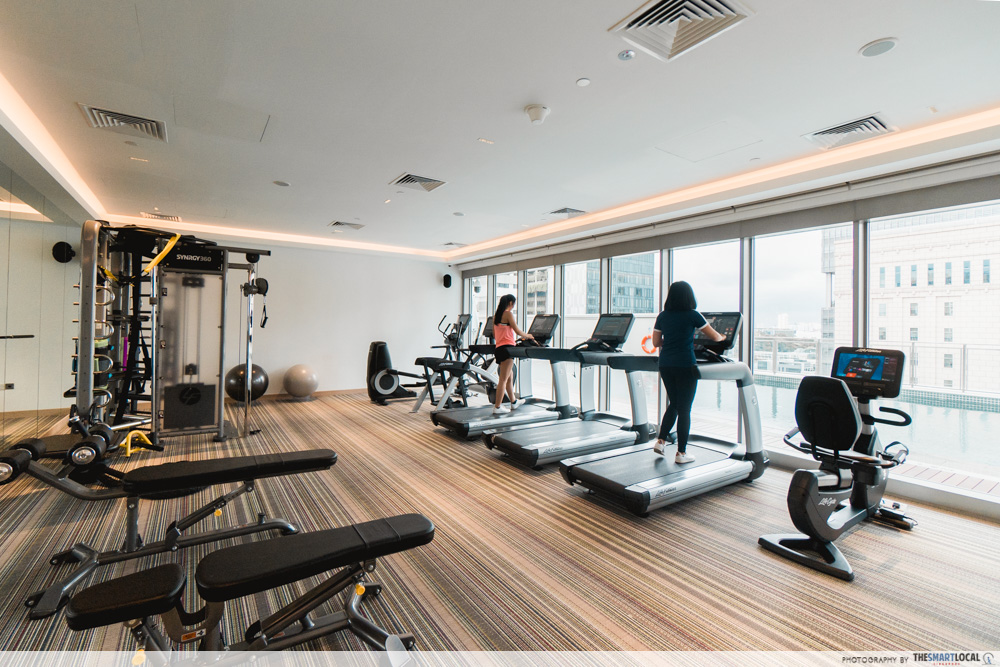 Gym at Capri by Fraser, China Square