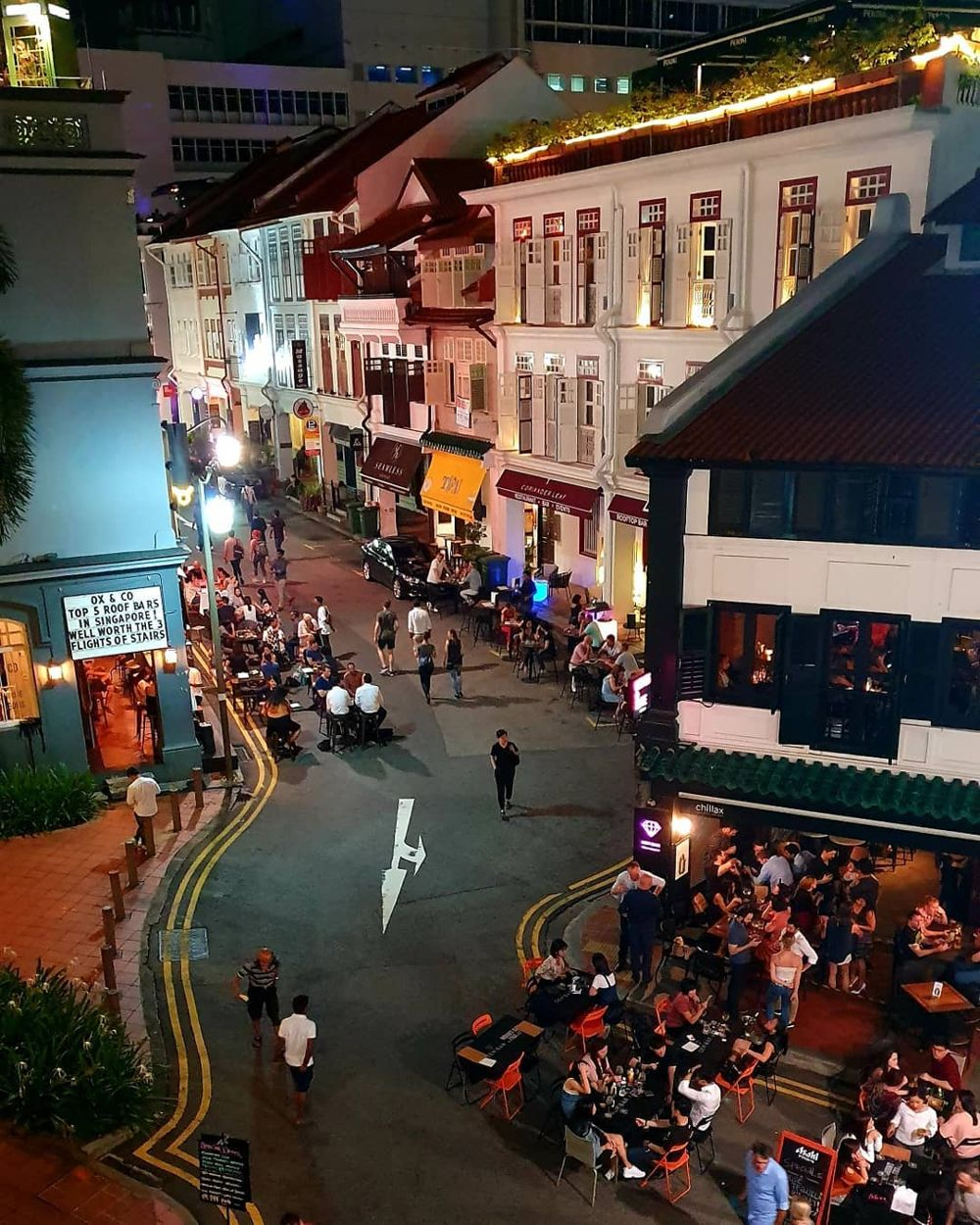 Ann Siang Hill at night