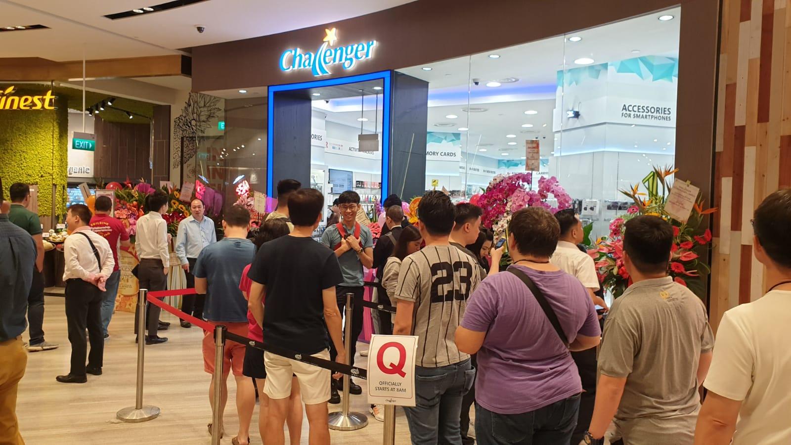 Challenger queues