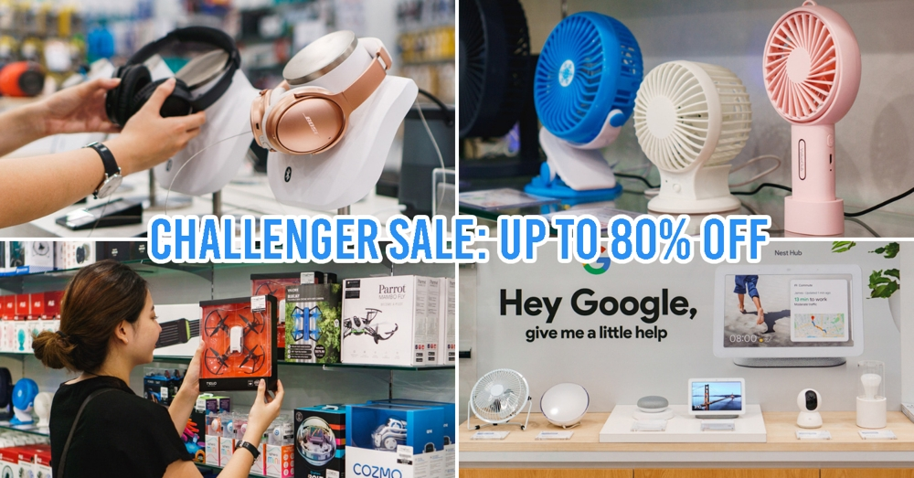 Challenger opening sale