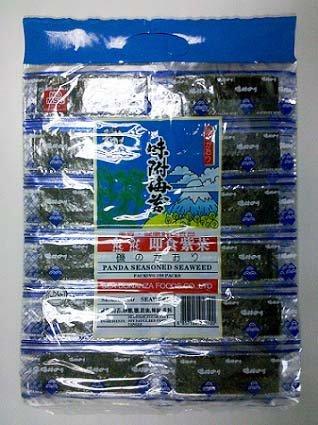 Panda Seasoned Seaweed