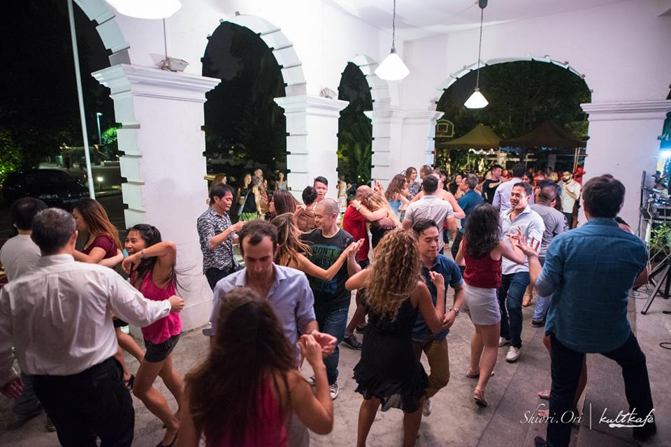 Salsa Under The Stars in Singapore