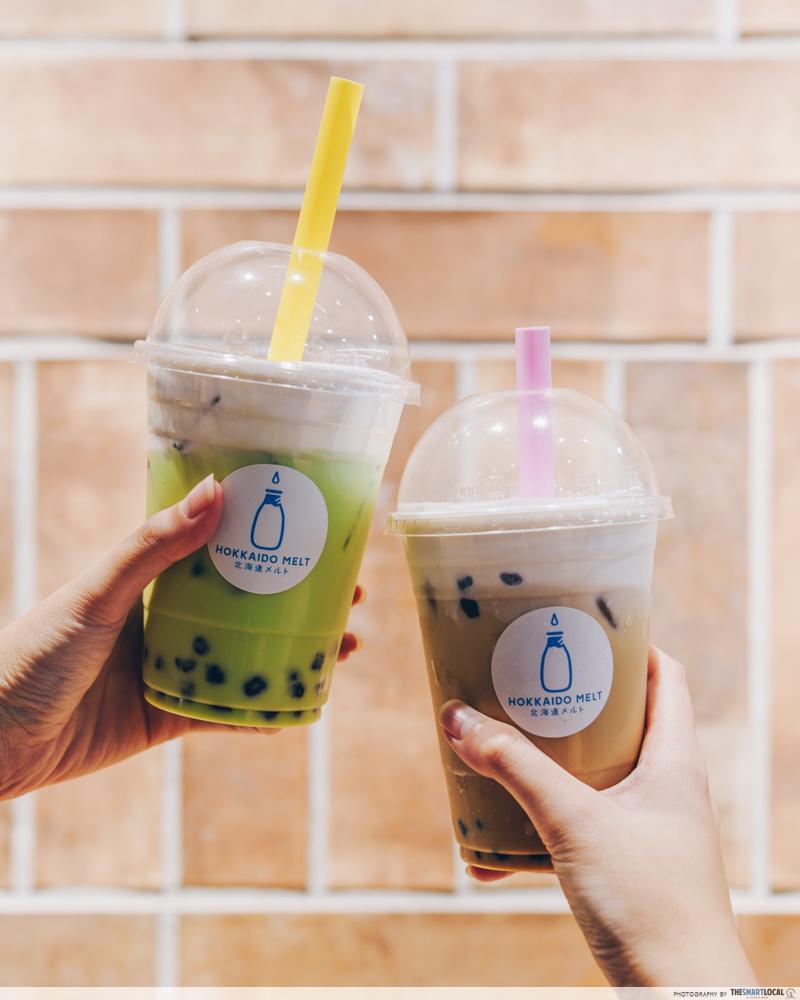 Hokkaido Milk Bubble Tea