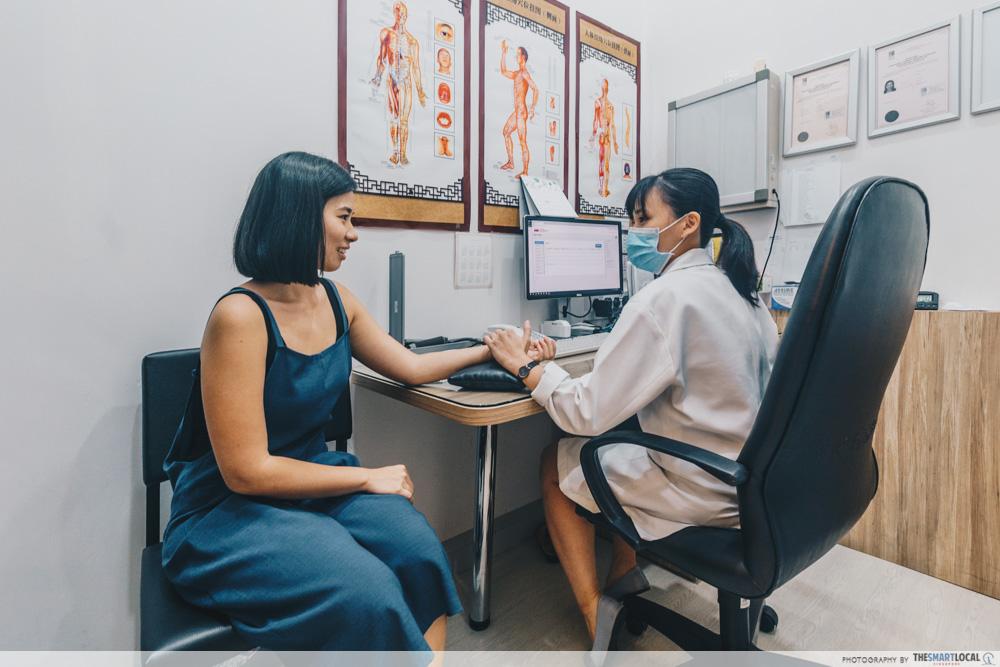 Eu Yang Sang TCM Clinic Consultation