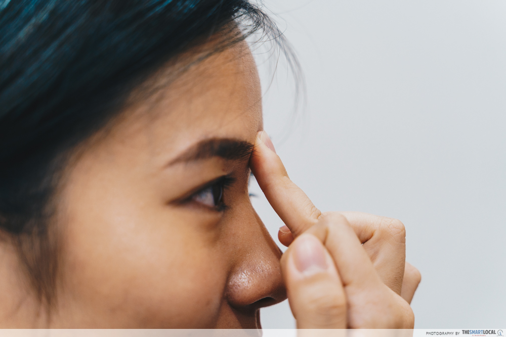 Eu Yang Sang TCM Acupressure Massage Nasal Congestion