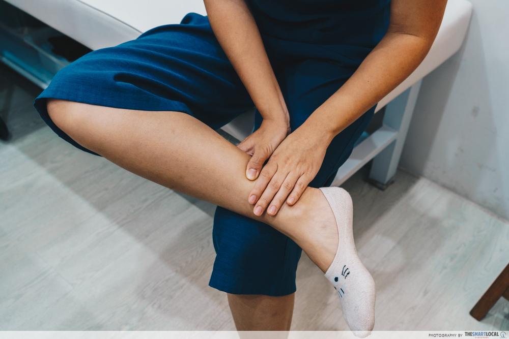 Eu Yang Sang TCM Acupressure Massage Inner Ankle