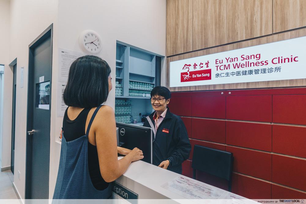 Eu Yang Sang TCM Clinic Novena