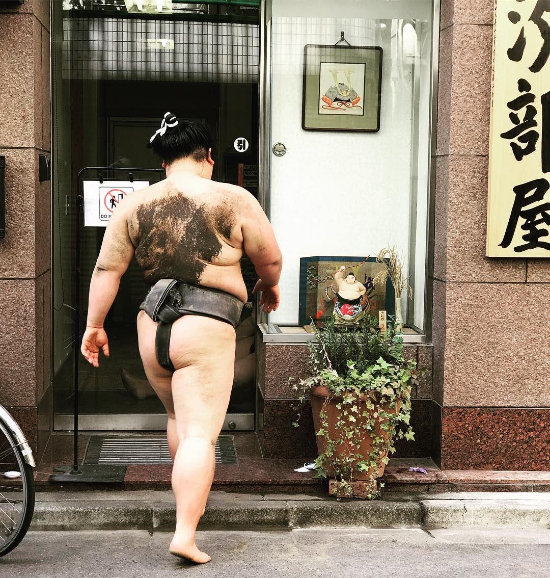 Arashio-beya sumo wrestling Tokyo