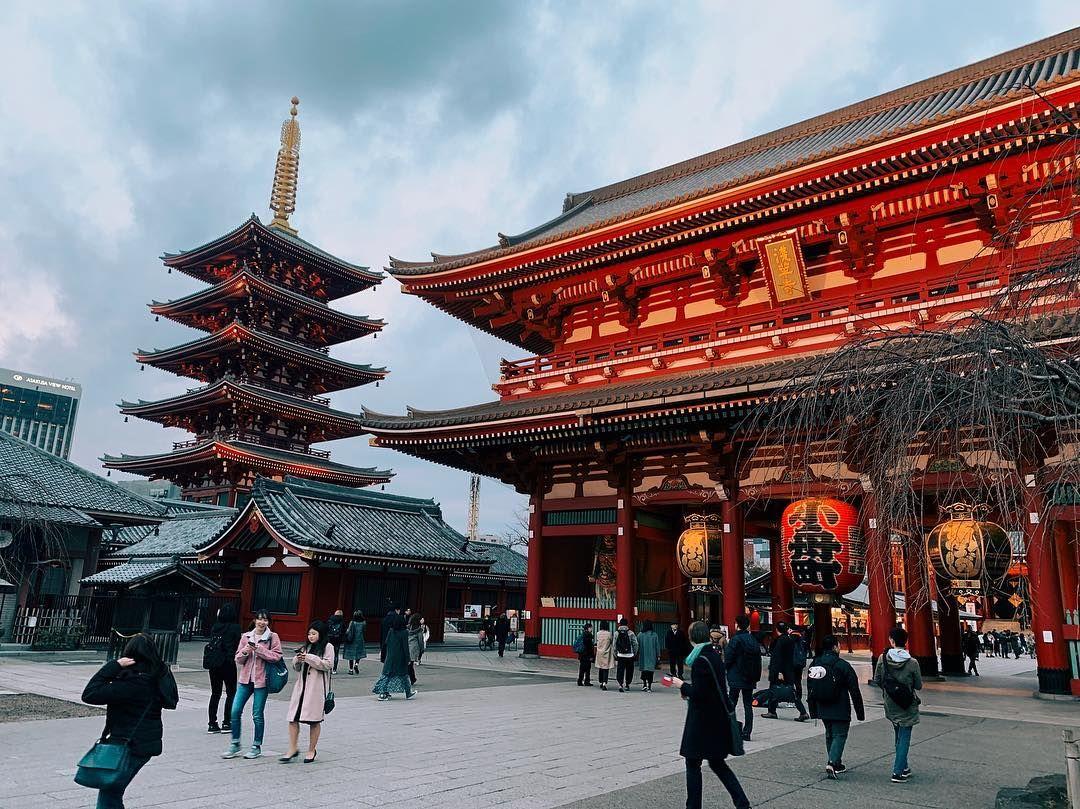 Tokyo Nakamise-dori Senso-ji