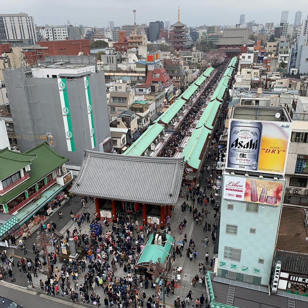 Tokyo Nakamise-dori
