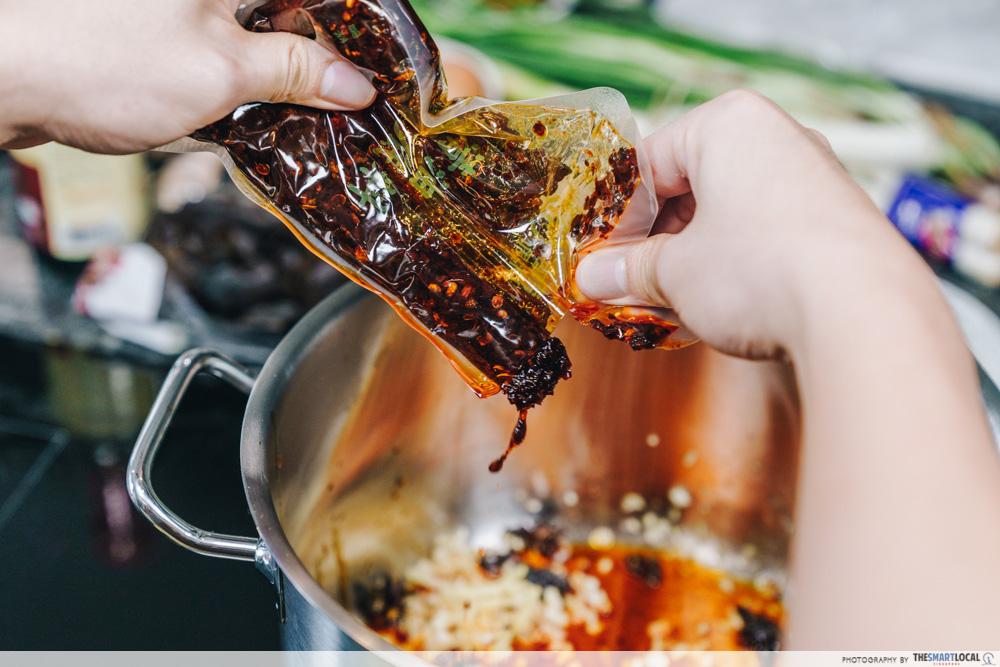 Sichuan Spicy Ma La Soup