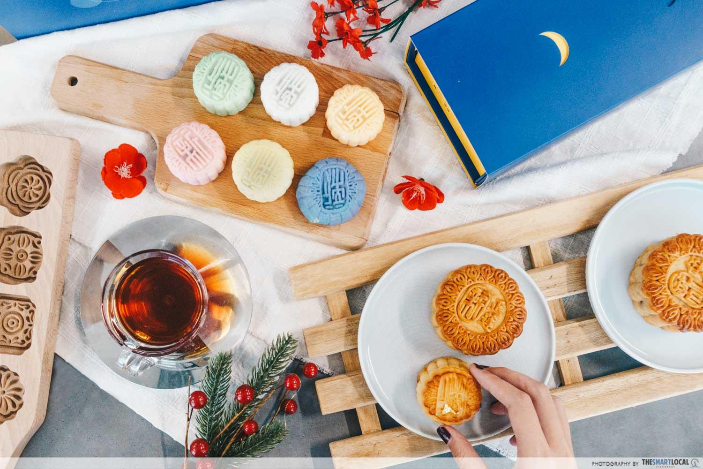 Holiday Inn Singapore Atrium 2019 Mooncakes Snowskin Flavours