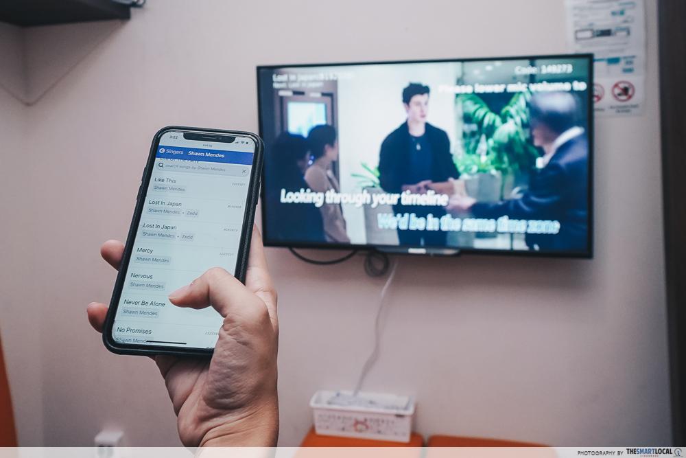 Karaoke North Singapore KTV Playlist Sembawang CC Wifi Controller