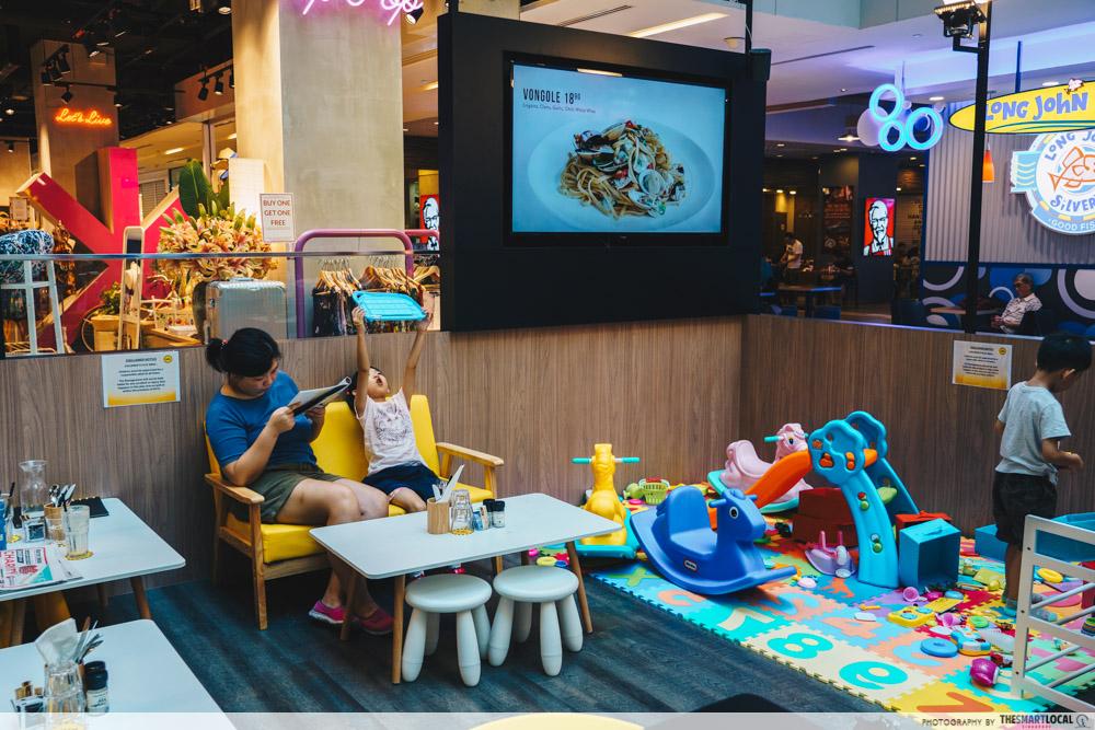 Kith Cafe play area