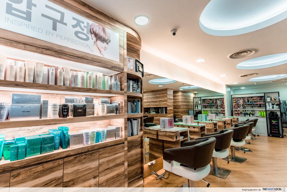 Korean Perms Singapore Salon CapitaLand Shopping Malls Apgujeong Hair Studio Bishan Junction 8