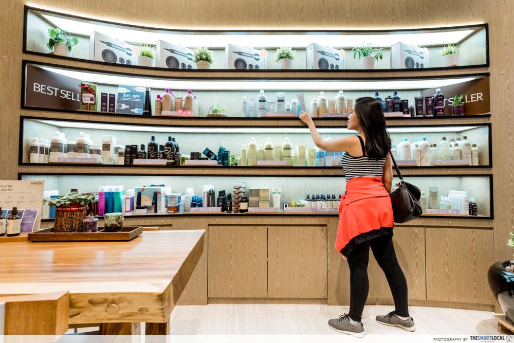 Korean Perms Singapore Salon CapitaLand Shopping Malls TEAM Salon Merch Retail