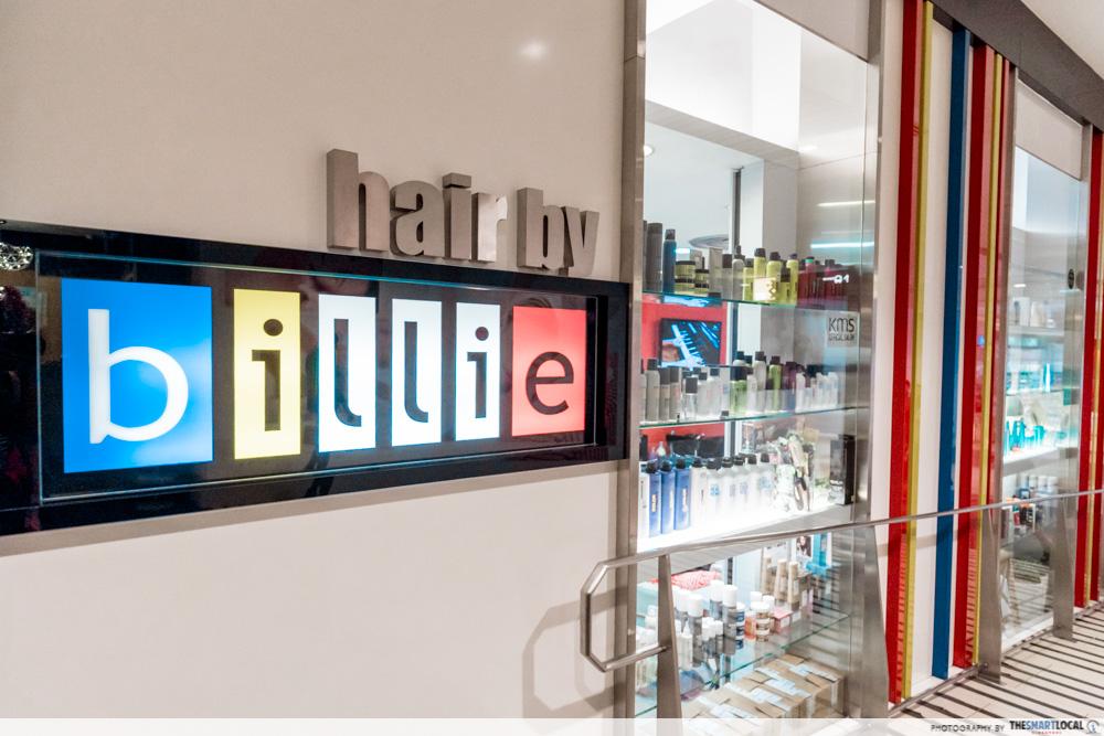 Korean Perms Singapore Salon CapitaLand Shopping Malls Hair by Billie City Hall MRT
