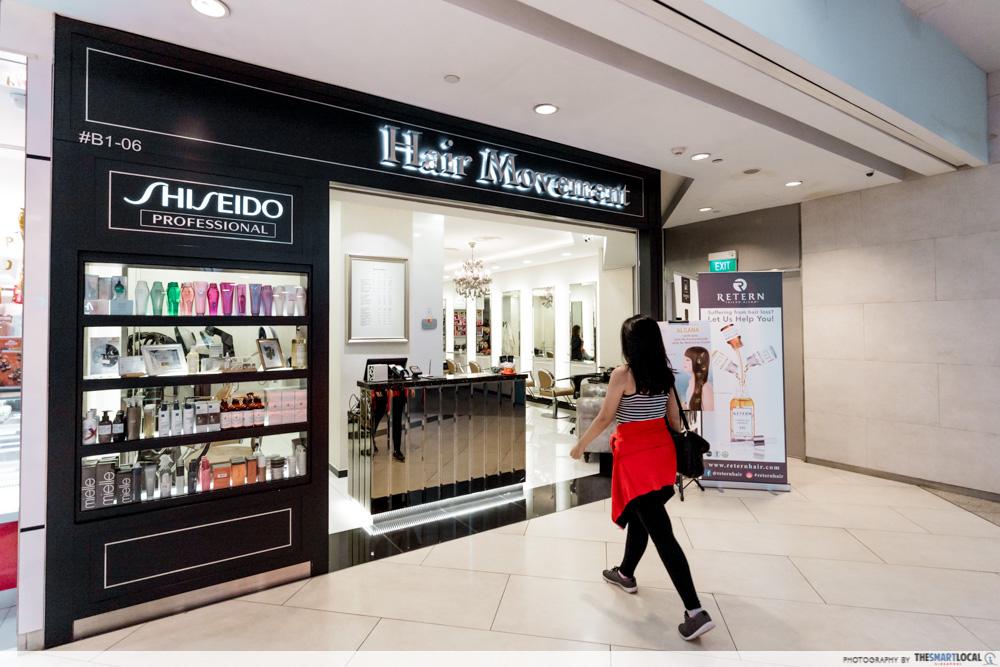 Korean Perms Singapore Salon CapitaLand Shopping Malls Hair Movement JCube Jurong East