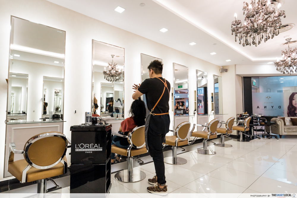 Korean Perms Singapore Salon CapitaLand Shopping Malls Hair Movement JCube