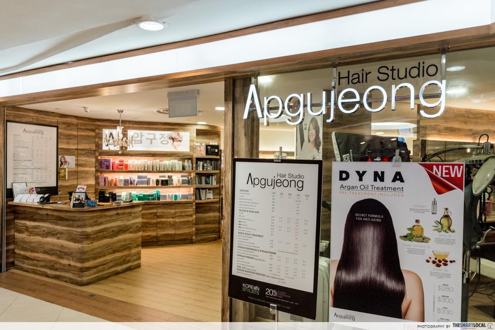 Korean Perms Singapore Salon CapitaLand Shopping Malls Apgujeong Hair Studio Junction 8 Bishan