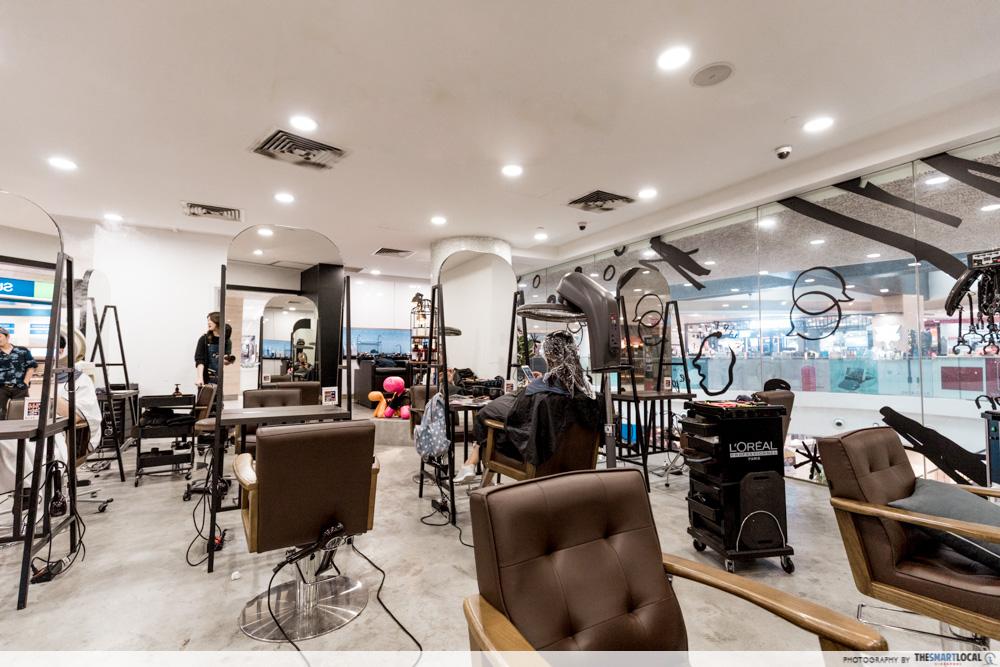 Korean Perms Singapore Salon CapitaLand Shopping Malls Be De Bon Plaza Singapura