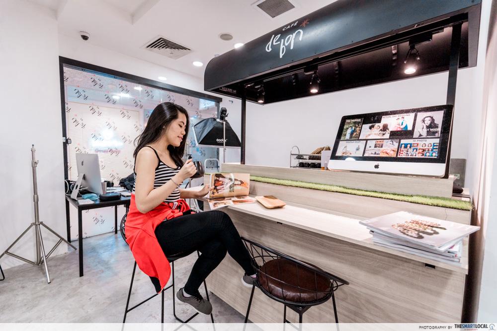 Korean Perms Singapore Salon CapitaLand Shopping Malls Be De Bon Plaza Singapura Cafe Beverages