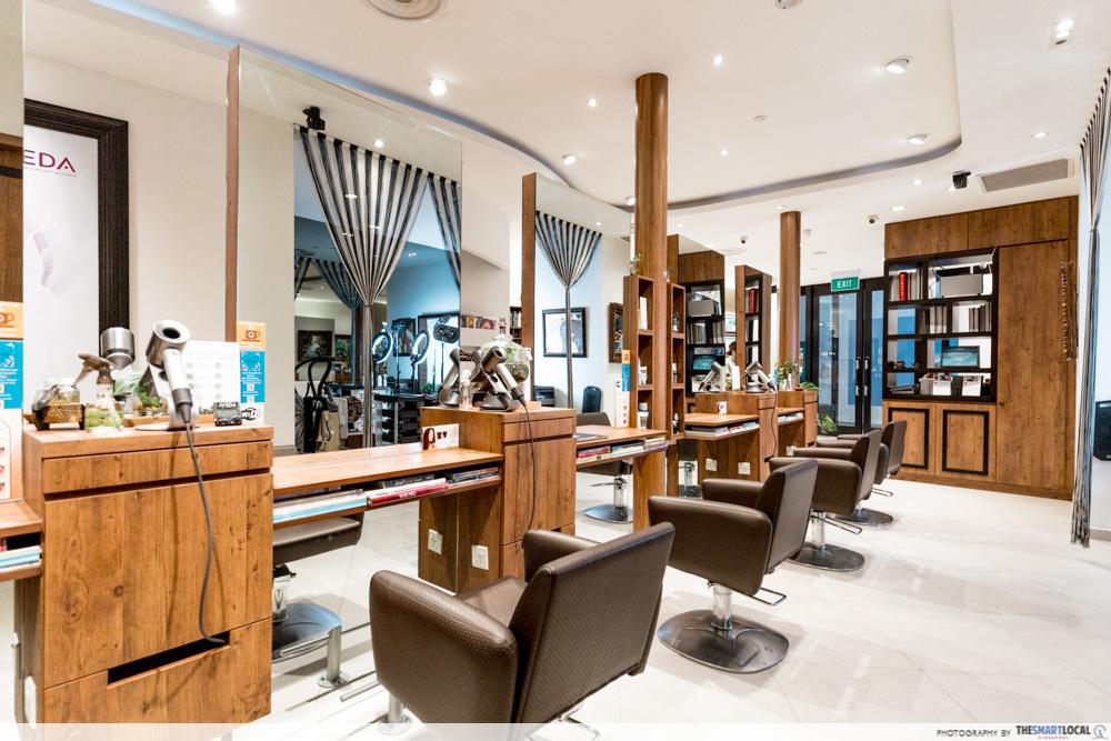 Korean Perms Singapore Salon CapitaLand Shopping Malls TEAM Salon