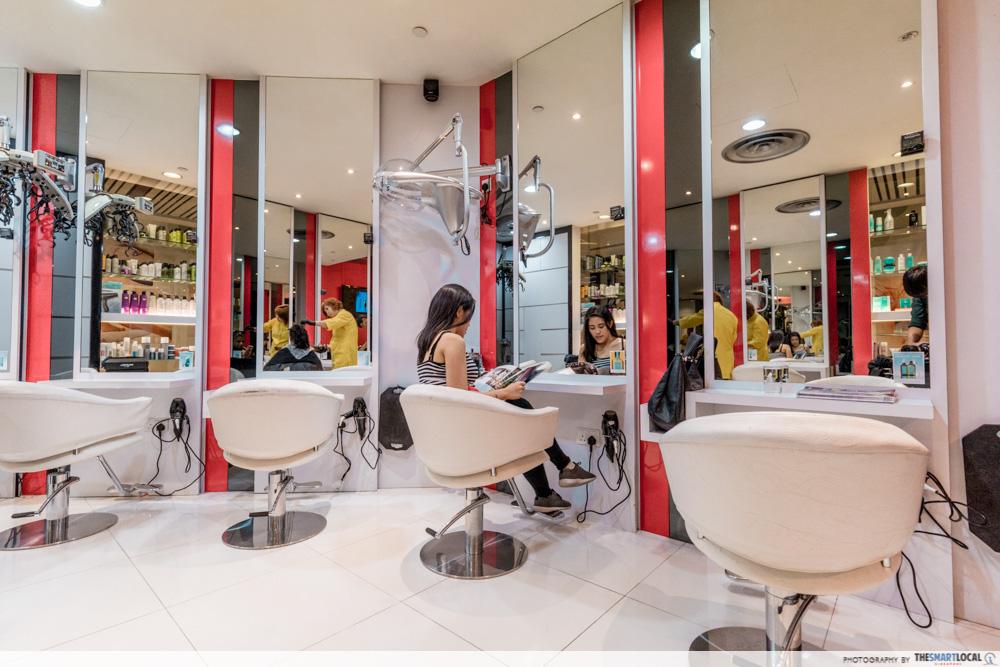 Korean Perms Singapore Salon CapitaLand Shopping Malls Hair by Billie
