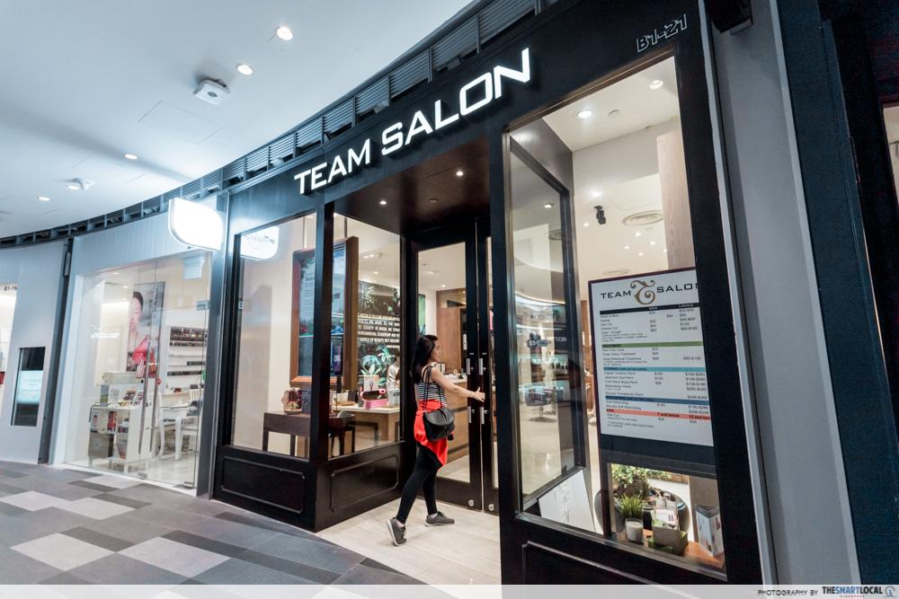 Korean Perms Singapore Salon CapitaLand Shopping Malls TEAM Salon Star Vista